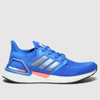 adidas Blue Ultraboost 20 Mens Trainers