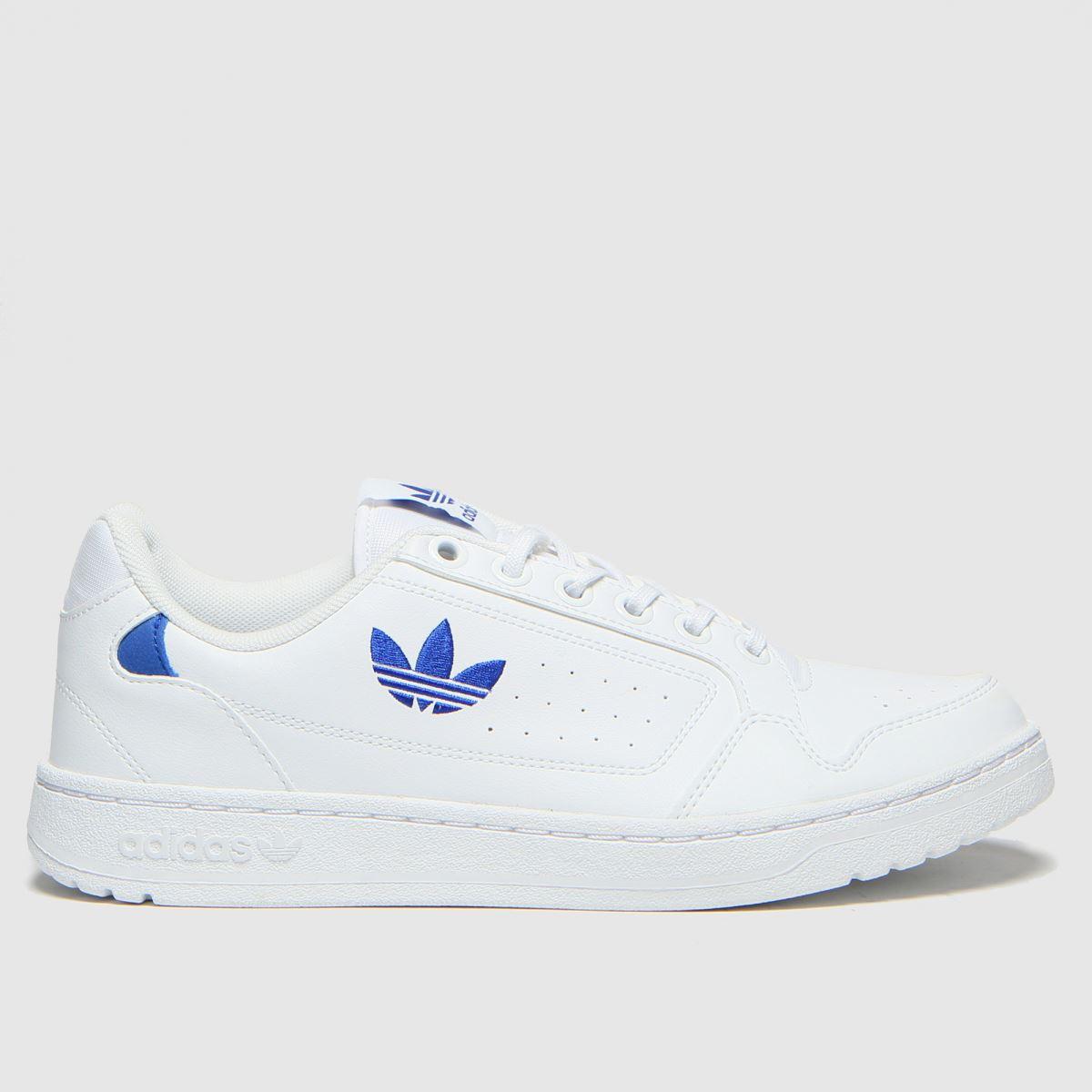 Adidas White Ny 90 Trainers