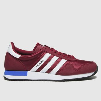 adidas Red Usa 84 Mens Trainers#