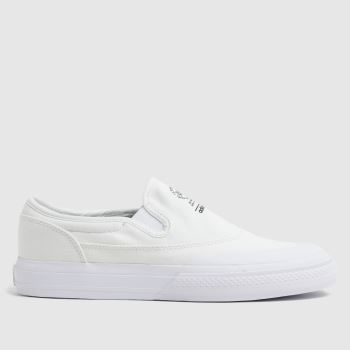 adidas White Nizza Rf Slip Mens Trainers