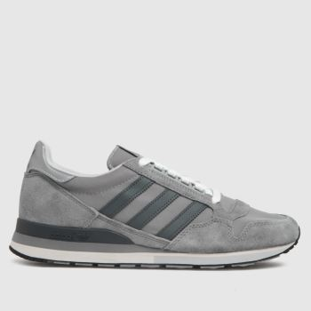 adidas Light Grey Zx 500 Mens Trainers