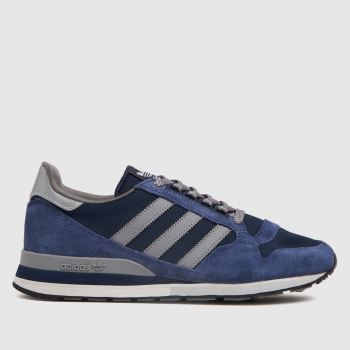 adidas Navy & Grey Zx 500 Mens Trainers