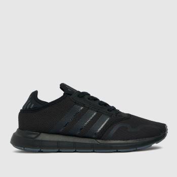 adidas Black Swift Run X Mens Trainers