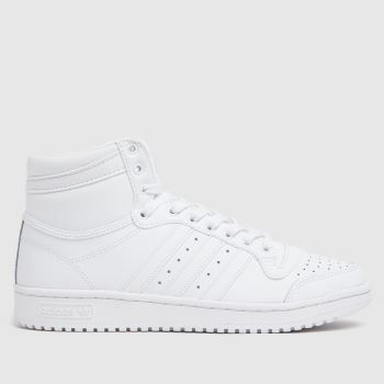adidas White Top Ten Mens Trainers