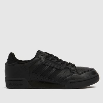 adidas Black Continental 80 Stripe Mens Trainers