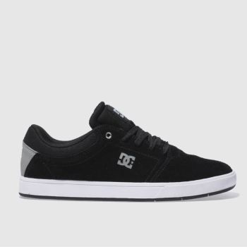 Dc Shoes Black & Grey CRISIS Trainers