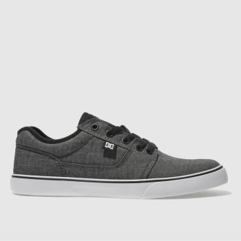 Dc Shoes Black & Grey Tonik Se Mens Trainers