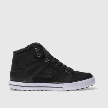 Dc Shoes Black SPARTAN HI WC WNT Trainers
