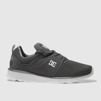 DC SHOES GREY HEATHROW TRAINERS