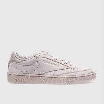Reebok Pink Club C 85 Mens Trainers