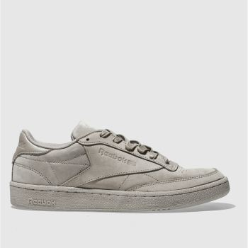 Reebok Grey CLUB C 85 RS Trainers
