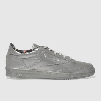 Reebok Silver Club C 85 Tdg Mens Trainers