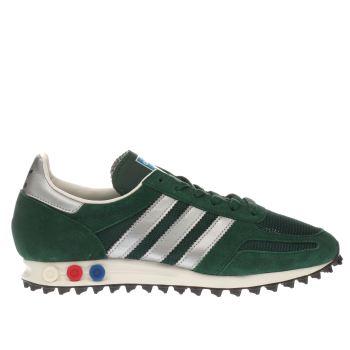 green adidas la trainer og trainers
