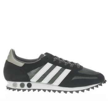 0486f047737 mens black   green adidas la trainer og trainers