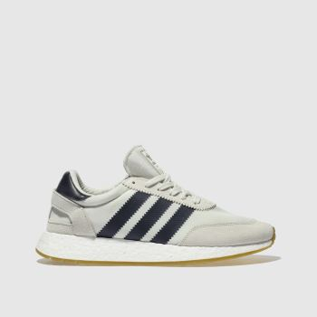 Adidas White & Navy I-5923 Trainers
