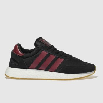 Adidas Black & Red I-5923 Trainers