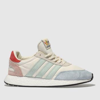 ca237fe24e6039 mens stone   pale blue adidas i-5923 pride trainers