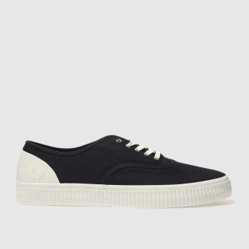 Fred Perry Navy Barson Mens Trainers