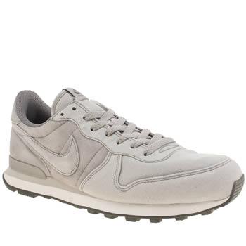 timeless design 7da07 44b6a mens light grey nike internationalist premium trainers | schuh