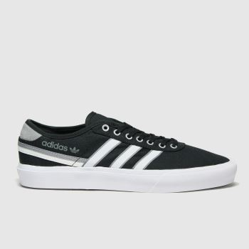 adidas Black & Grey Delpala Mens Trainers