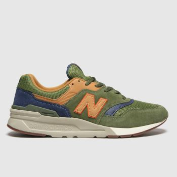 New balance Khaki 997 Mens Trainers