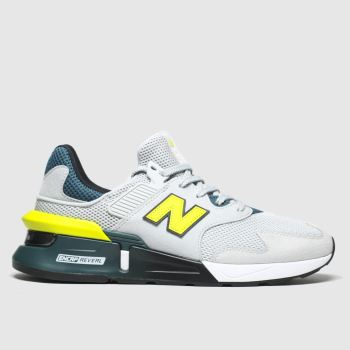 New Balance Light Grey 997 Mens Trainers