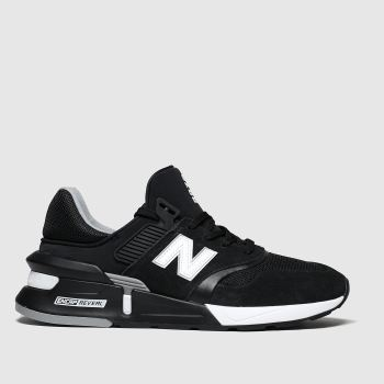 New Balance Black & White 997 Mens Trainers