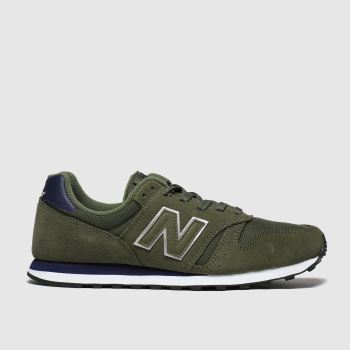 New Balance Khaki 373 Trainers