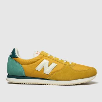 New Balance Yellow 220 Mens Trainers