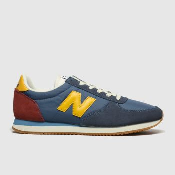 New Balance Navy & Red 220 Mens Trainers