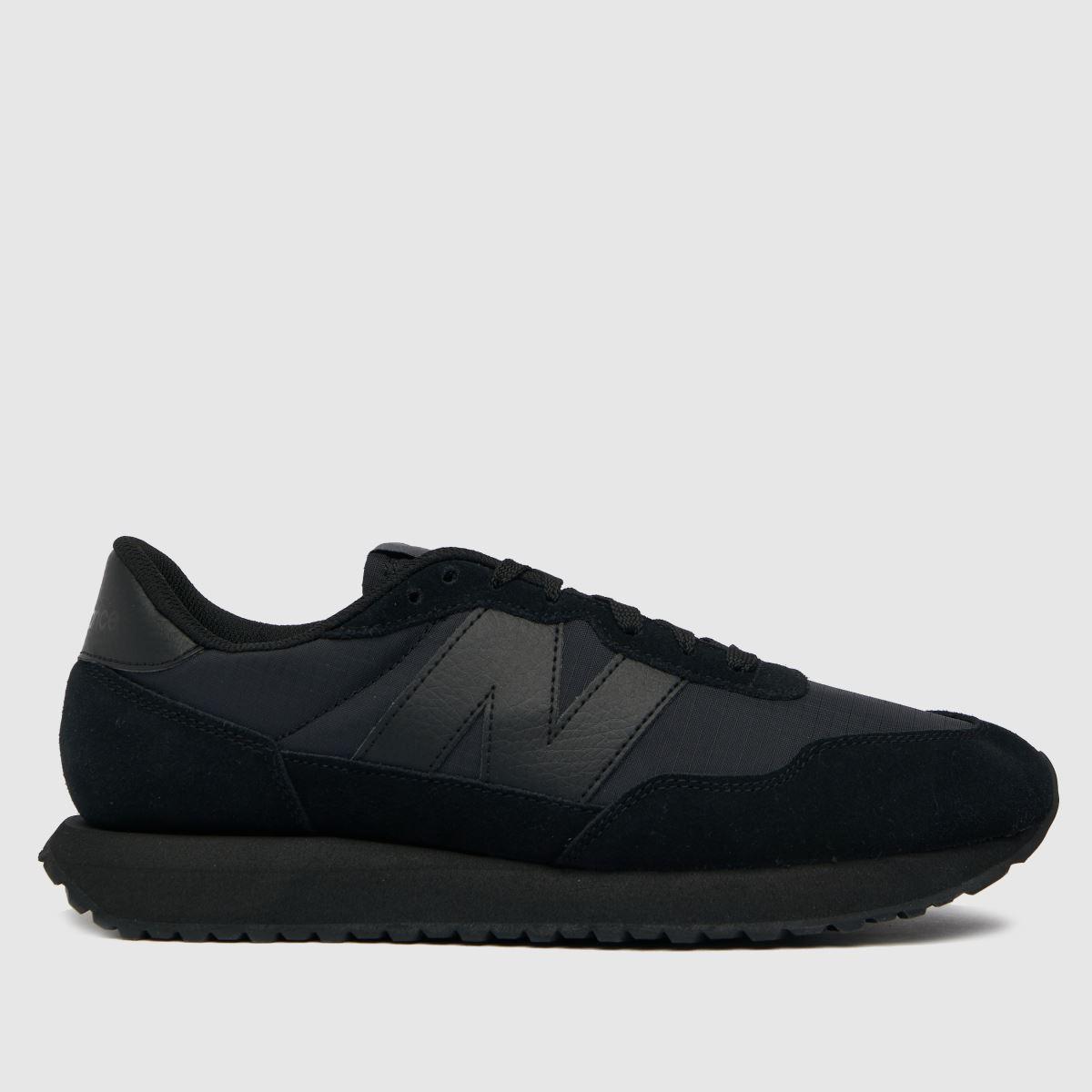 New Balance Black 237 Trainers