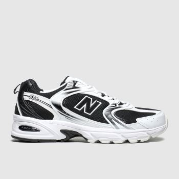 New Balance Black & White 530 Mens Trainers
