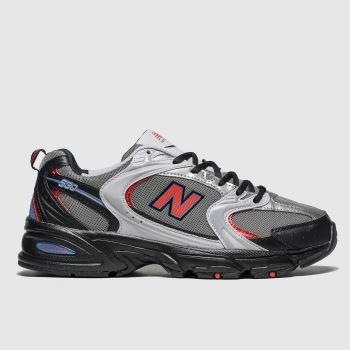 New balance Black & Red 530 Mens Trainers