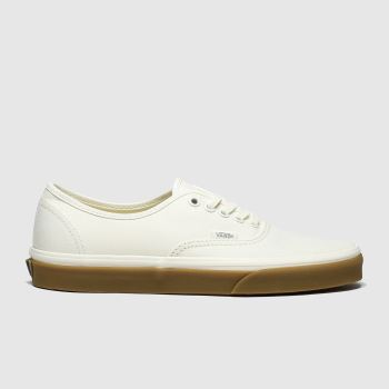 Vans Natural Authentic Mens Trainers