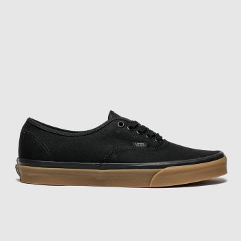Vans Black & Brown Authentic c2namevalue::Mens Trainers