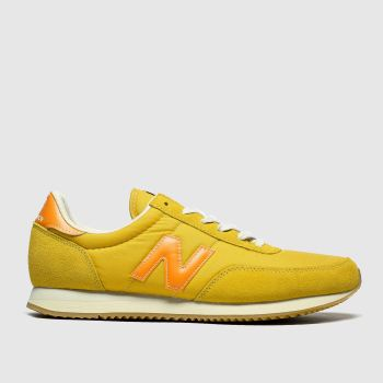 New Balance Yellow 720 V1 Mens Trainers