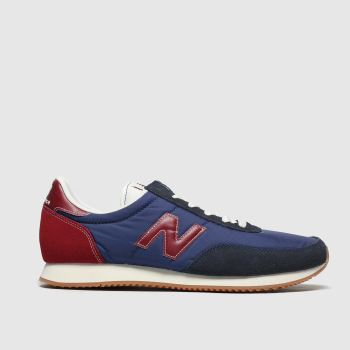 New Balance Navy & Red 720 V1 c2namevalue::Mens Trainers