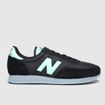 New Balance Black & Green 720 Mens Trainers