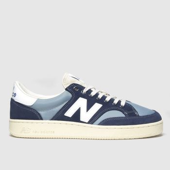 New Balance Navy & White Proct Trainers