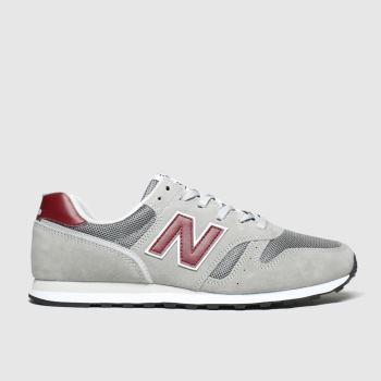New Balance Grey 373 V2 Mens Trainers