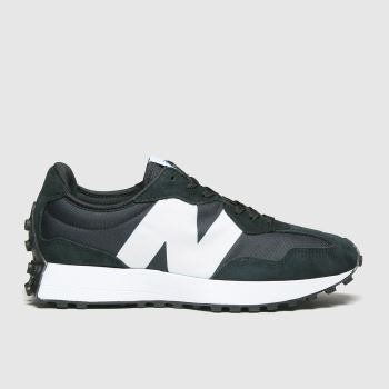 New balance Black & White 327 Mens Trainers