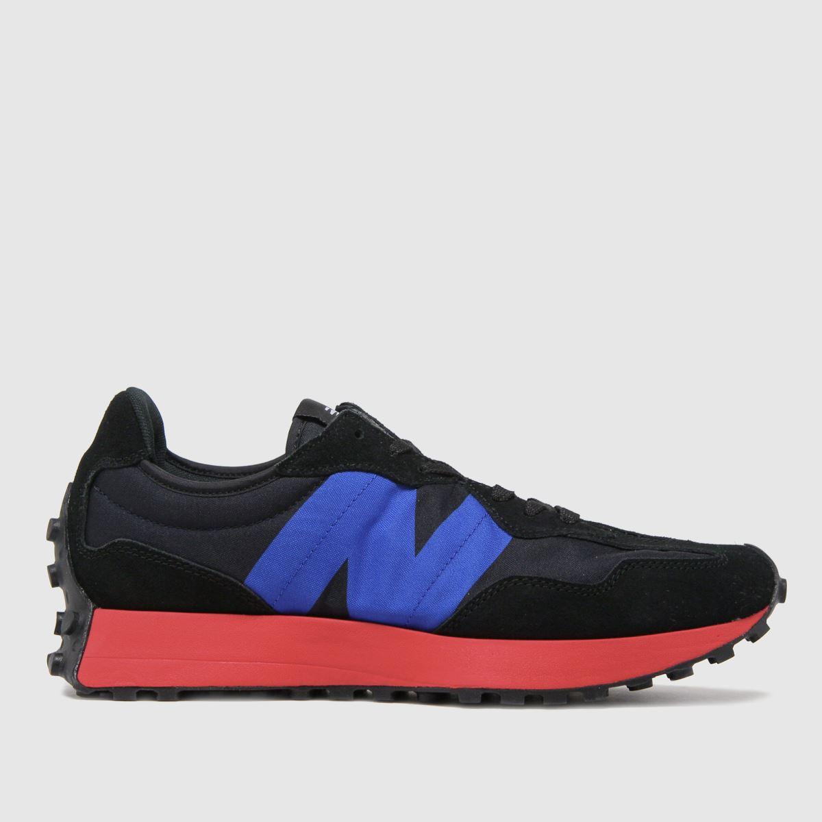 New Balance Black & Navy Nb 327 Trainers