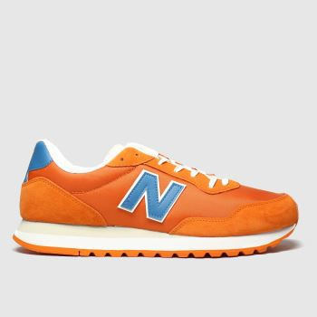 New Balance Orange 527 Mens Trainers