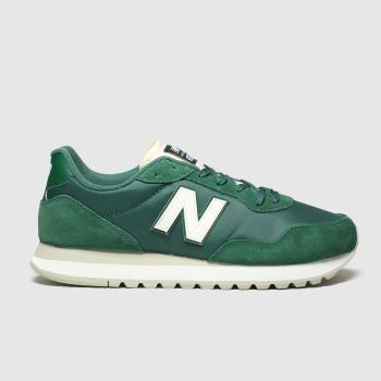 New Balance Green 527 Mens Trainers#
