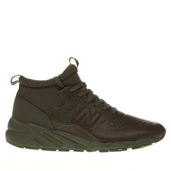 NEW BALANCE KHAKI 580 OUTDOOR TRAINERS