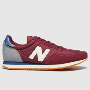 New balance Burgundy 720 Mens Trainers