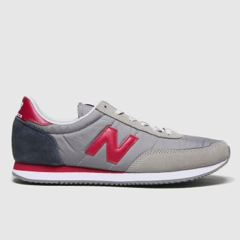New balance Grey & Navy 720 Mens Trainers