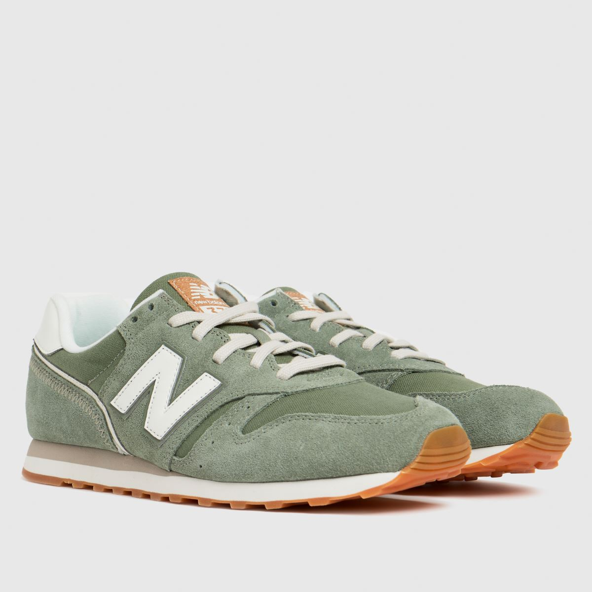New balance khaki 373 trainers