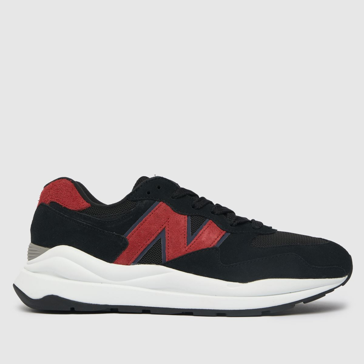 New Balance Black & Red 57/40 Trainers