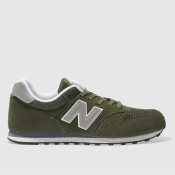 New Balance Khaki 373 c2namevalue::Mens Trainers